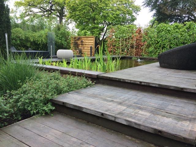 Four seasons tuincreatie water in de tuin